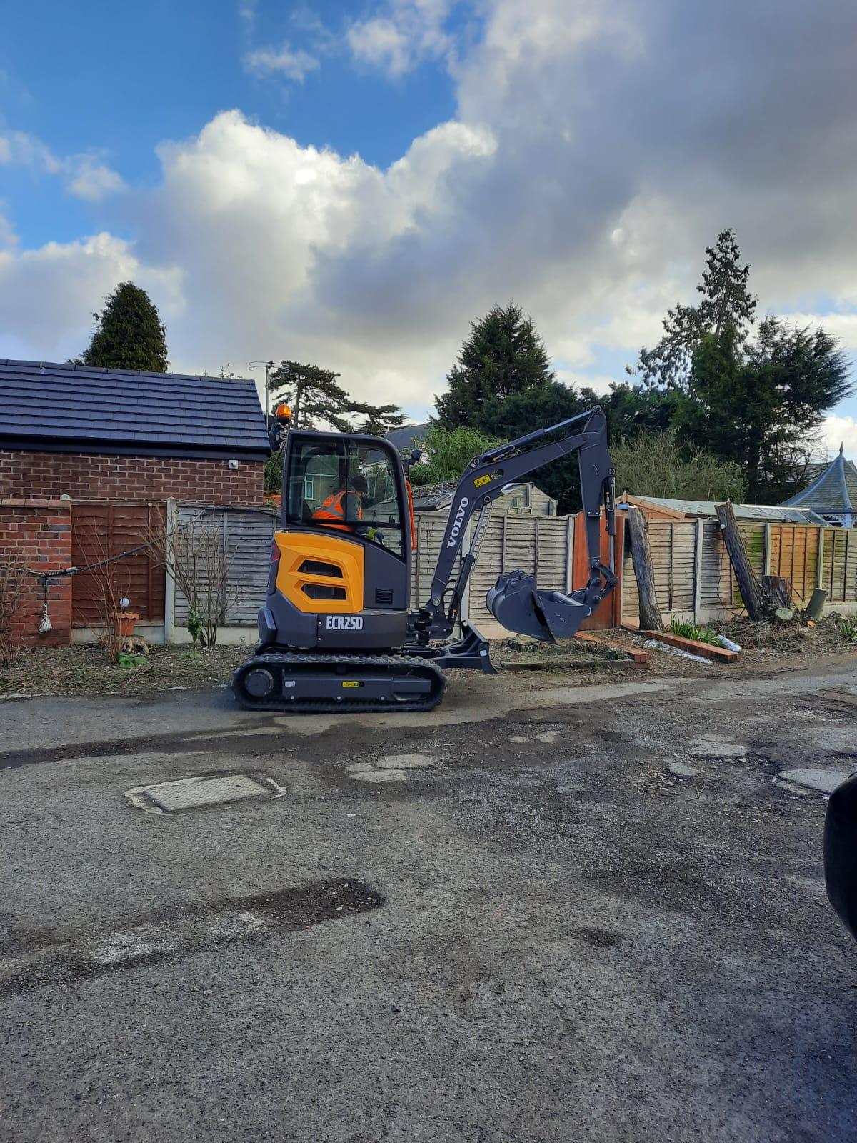 Digger Hire UK